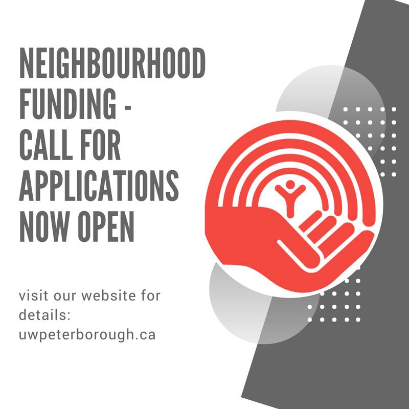 Neighbourhood Funding - Call for Applications Now Open