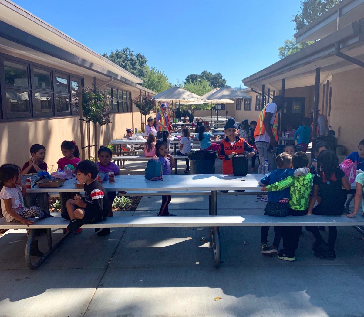Steel Lane outdoor tables