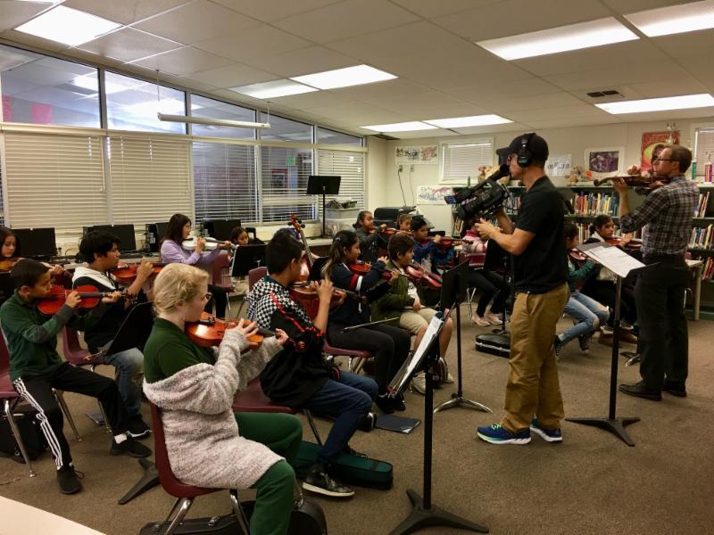 Music Blitz strings class