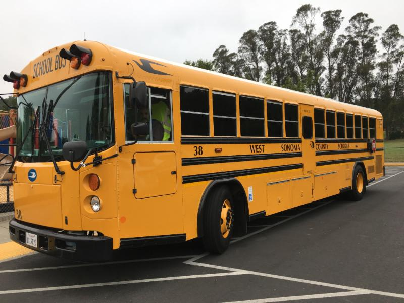 West County Transportation school bus