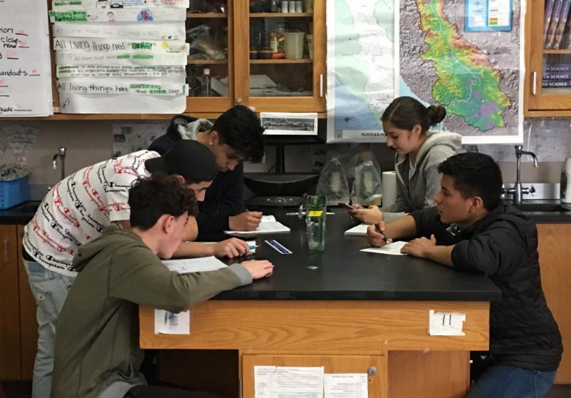 EAHS Science class