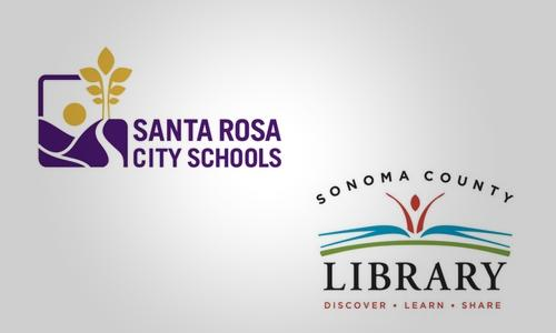SRCS and Library logos