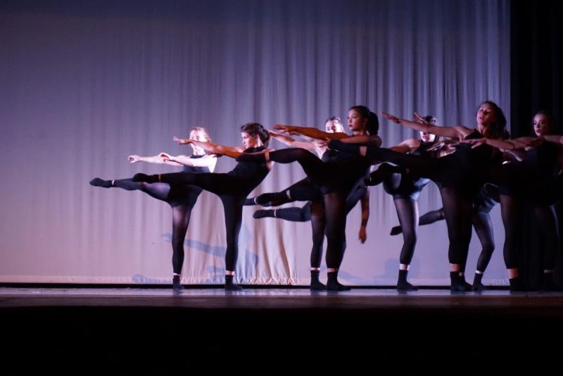 Group of dancers on stage
