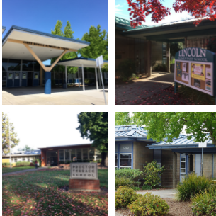 collage of 4 elementary schools that won award