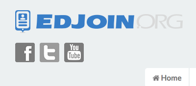EdJoin logo from webpage