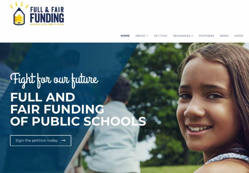 Full and Fair Funding website