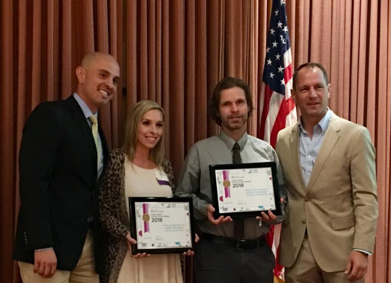 Elementary winners of Excellence in Education awards