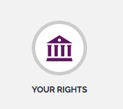 Your Rights button from SRCS website