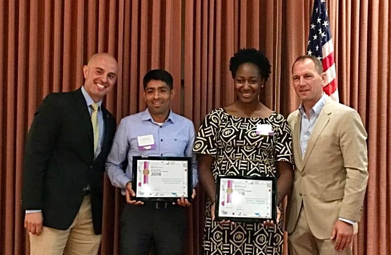 Excellence in Education Middle School Teacher winners
