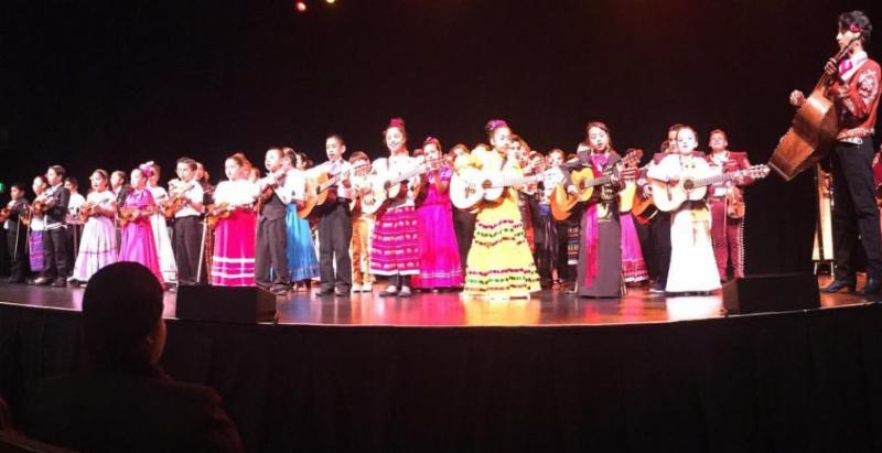 Mariachi performance