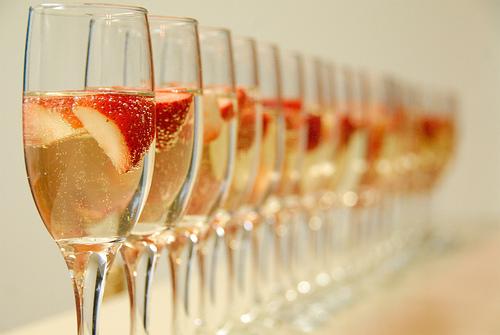 champaign & Strawberry