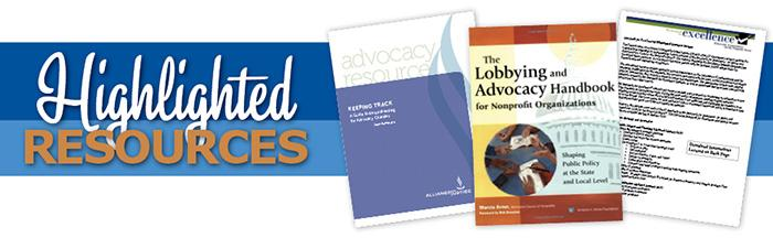 the lobbying and advocacy handbook for nonprofit organizations shaping public policy at the state and local level