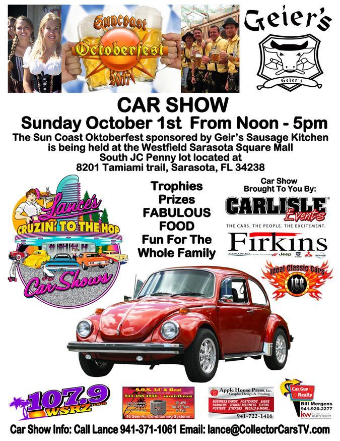 Lances CRUZ NEWS September - Car show sarasota square mall