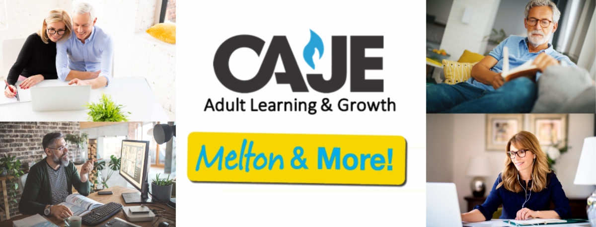 CAJE Adult Learning & Growth Melton & More
