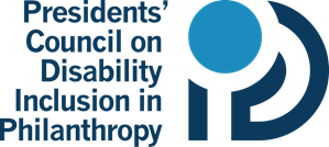 Logo of Presidents' Council on Disability Inclusion in Philanthropy