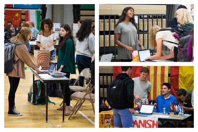 EHS students sign up to get involved at the annual activities fair