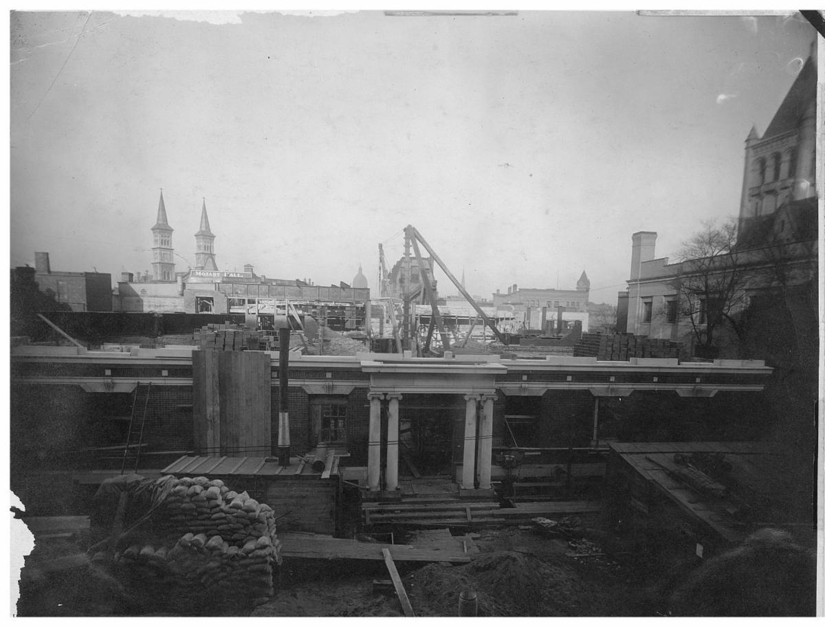 1910 construction of 123 fifth street, YWCA St. Paul's original building