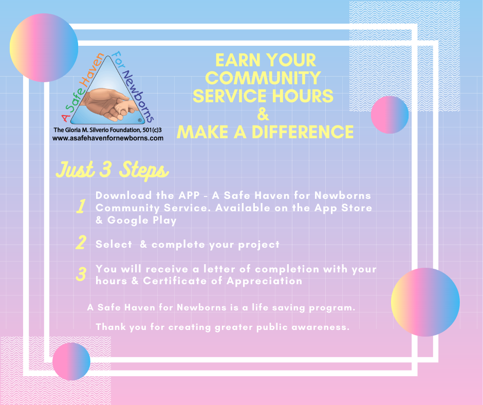Safe Haven Community Service Hours