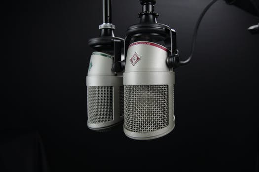 Business Voice Microphone Image