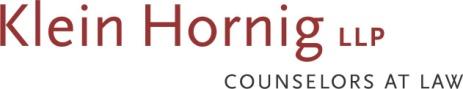 Klein Hornig logo name