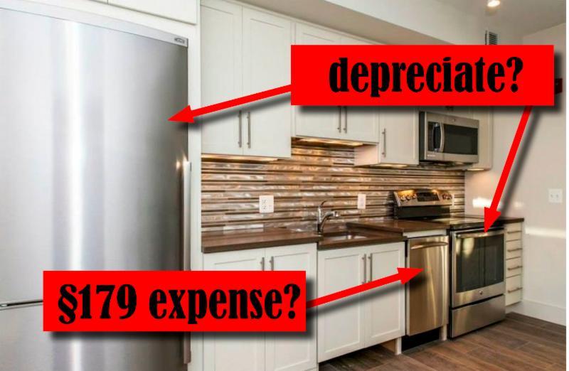 Depreciate or expense