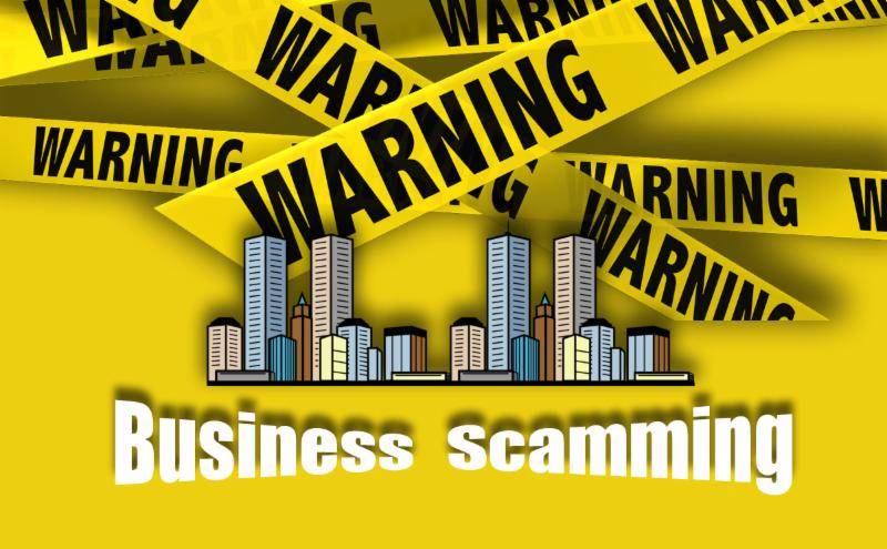 Business scamming