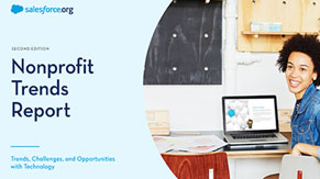 Nonprofit trends report: Nonprofit trends, challenges and opportunities with technology