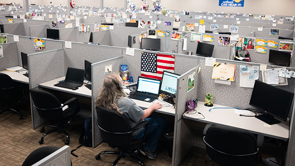 Call centers are tapping a new source of workers prepared to work from home during the pandemic: people with disabilities