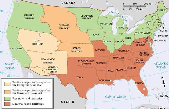 America divided before Civil War - Lessons to be learned