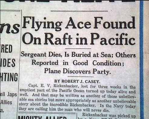 Fighting The Flying Circus Wwi Ace Eddie Rickenbacker Thank God I