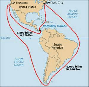 A C Across Panama Was Again Suggested In 1658 By Sir Thomas Browne England And Jefferson 1788