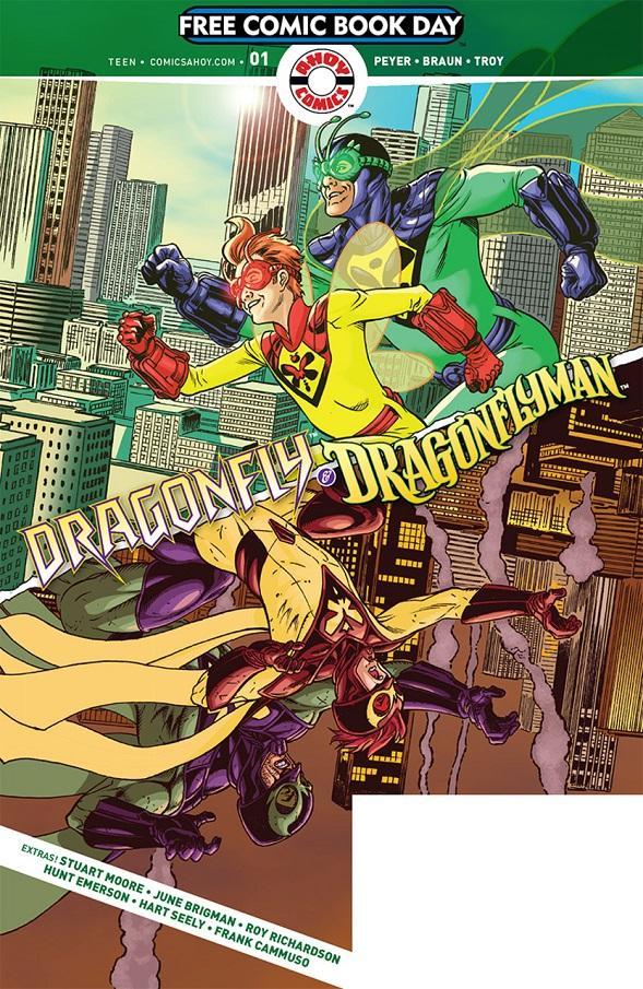 Dragonfly _ Dragonflyman by Jamal Igle