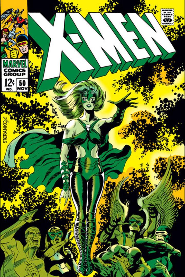 X-Men 50 by Jim Steranko