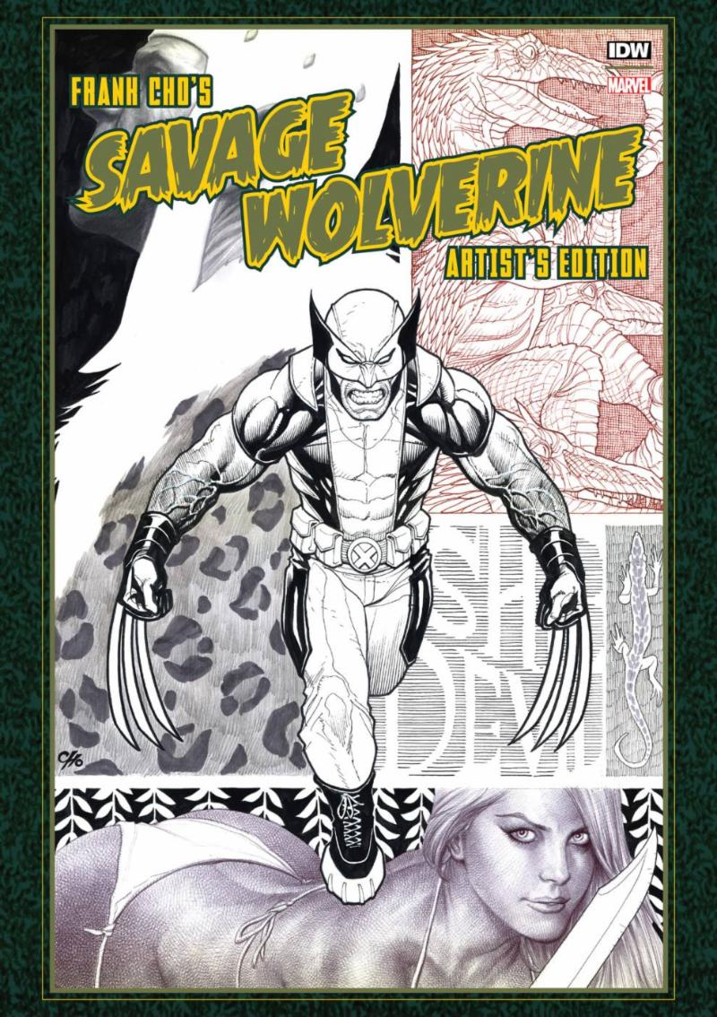 Frank Cho_s Savage Wolverine Artist Edition