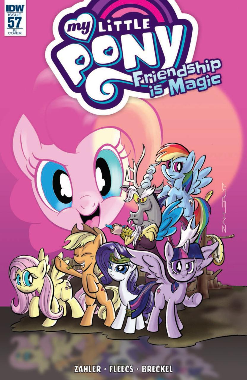 My Little Pony Friendship is Magic by Thom Zahler