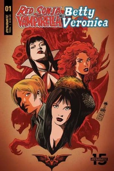 Red Sonja _ Vampirella Meet Betty _ Veronica