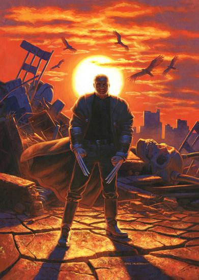 Old Man Logan by Greg Hildebrandt