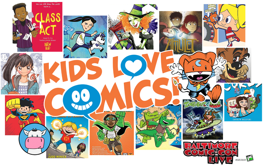 Kids Love Comics_