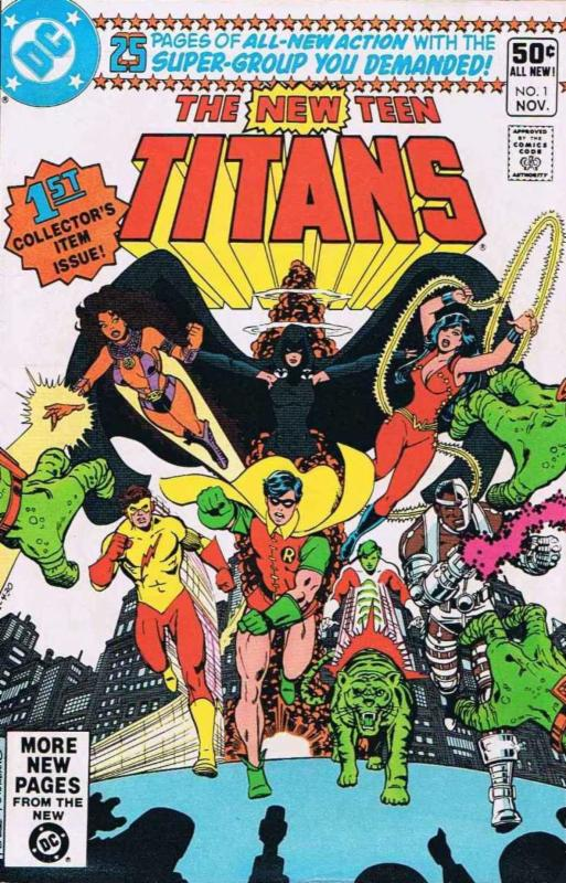 New Teen Titans by George Perez _ Marv Wolfman