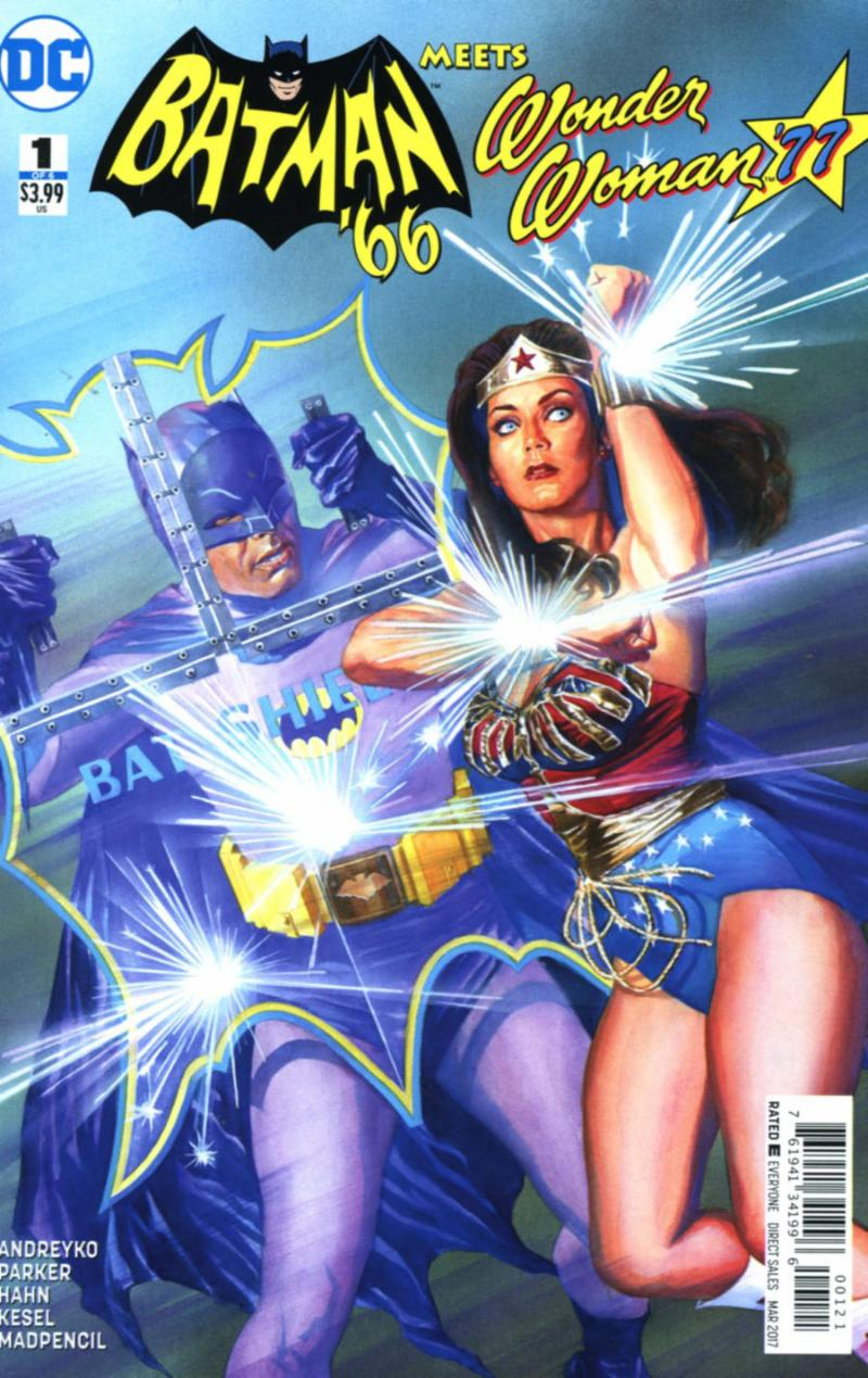 Batman _66 Meets Wonder Woman _77 by Jeff Parker