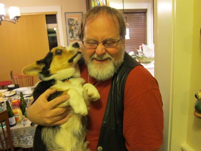 Bob Schreck and Bandit