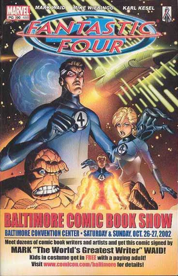 Fantastic Four BCC Exclusive Cover