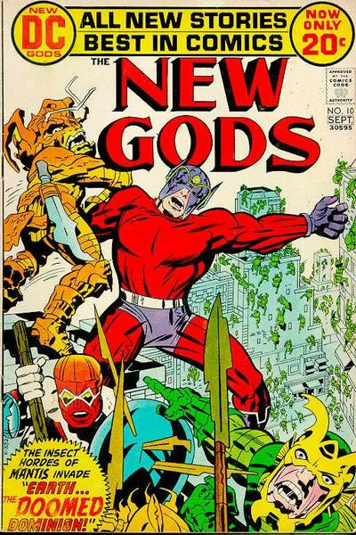 New Gods by Mike Royer