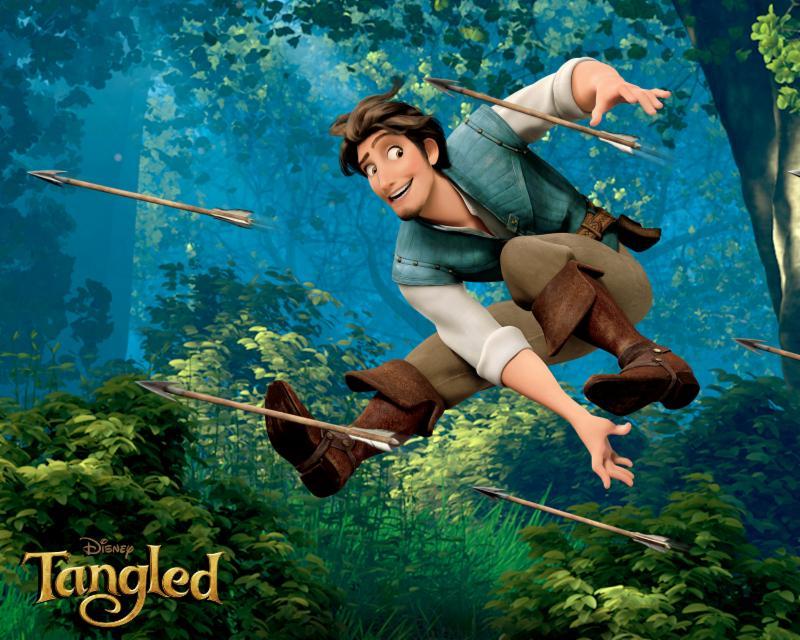 Flynn Rider in Disney_s Tangled