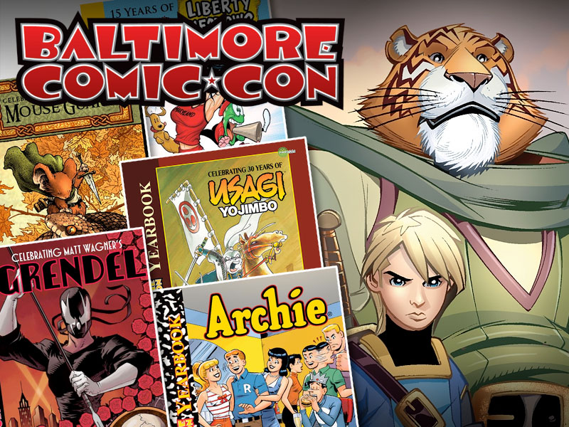 Baltimore Comic-Con Tellos Yearbook