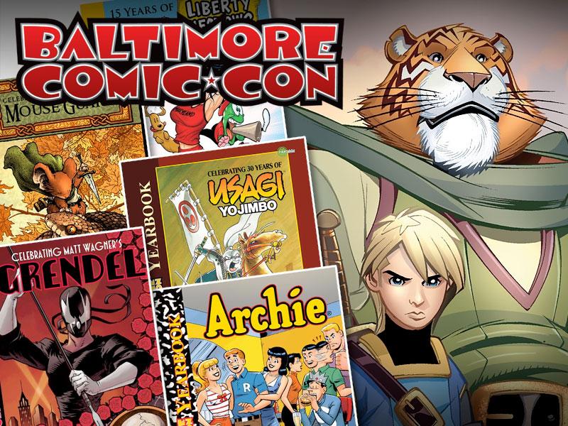 Baltimore Comic-Con Tellos Yearbook