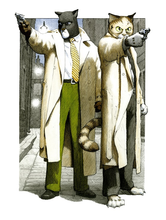 Blacksad by Gerhard