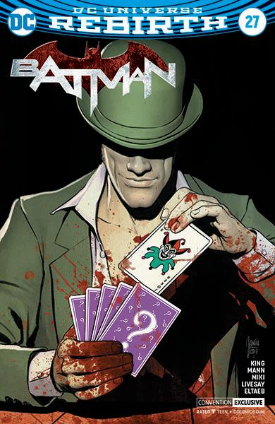 Batman 27 Convention Exclusive