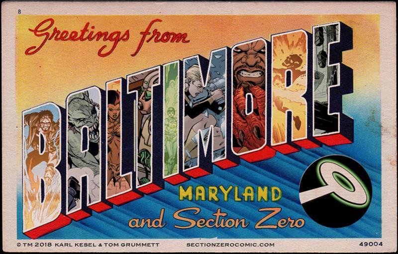 Section Zero Greetings