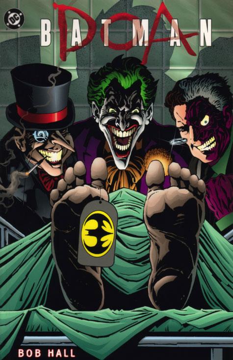 Batman DOA by Bob Hall